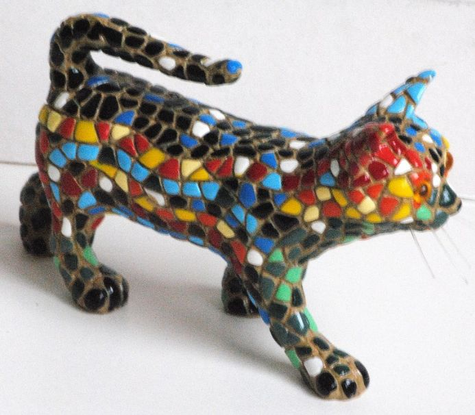 Barcino Designs Small Walking Cat